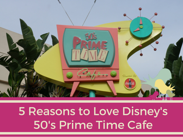 50s Prime Time Cafe Sign Walt Disney World