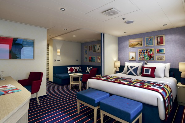 Carnival Vista Family Harbor Suite Staterooms