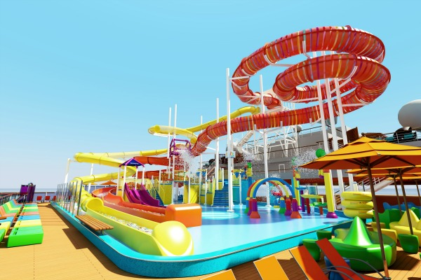 Carnival Vista Kaledi-Slide Water Works
