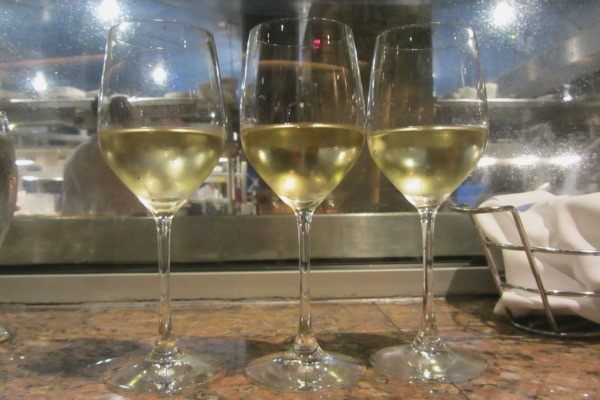 Flying Fish Cafe Walt Disney World Chardonnay Flight