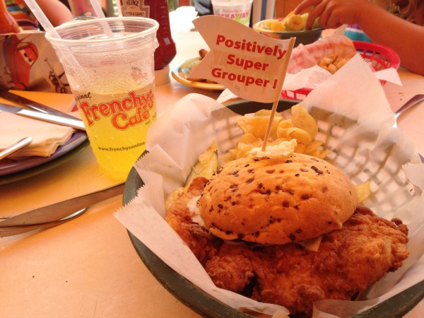 Frenchy's Super Grouper Sandwich