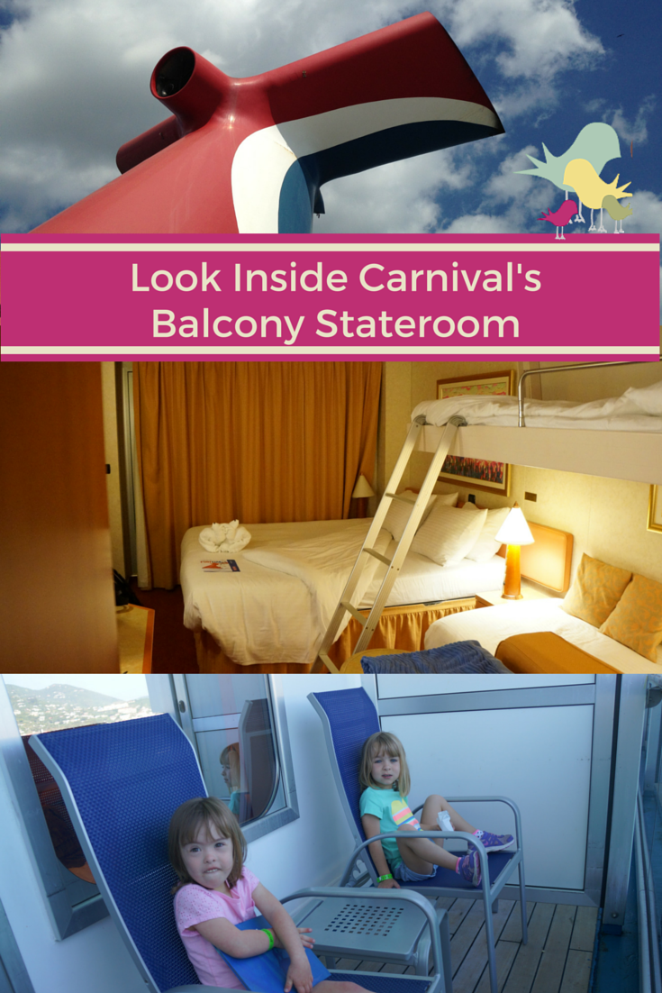 A Look Inside Carnival Cruise Lines Balcony Stateroom