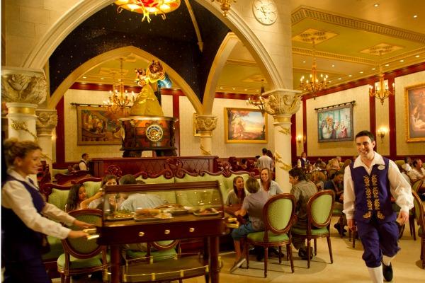 Disney's Be Our Guest Restaurant - Tapestry Room - credit Matt Stroshane WDW