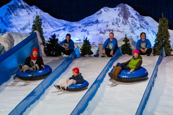 Gaylord Palms Christmas Snow Tubing