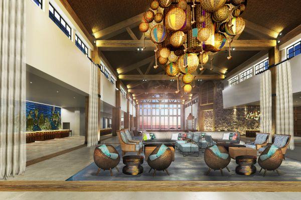 Loews Sapphire Falls Resort - Lobby
