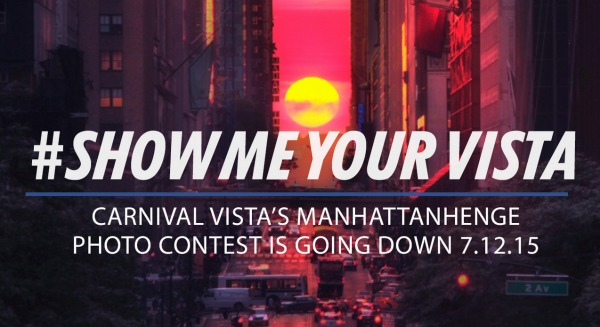 Show Me Your Vista - Carnival Cruise Lines Contest