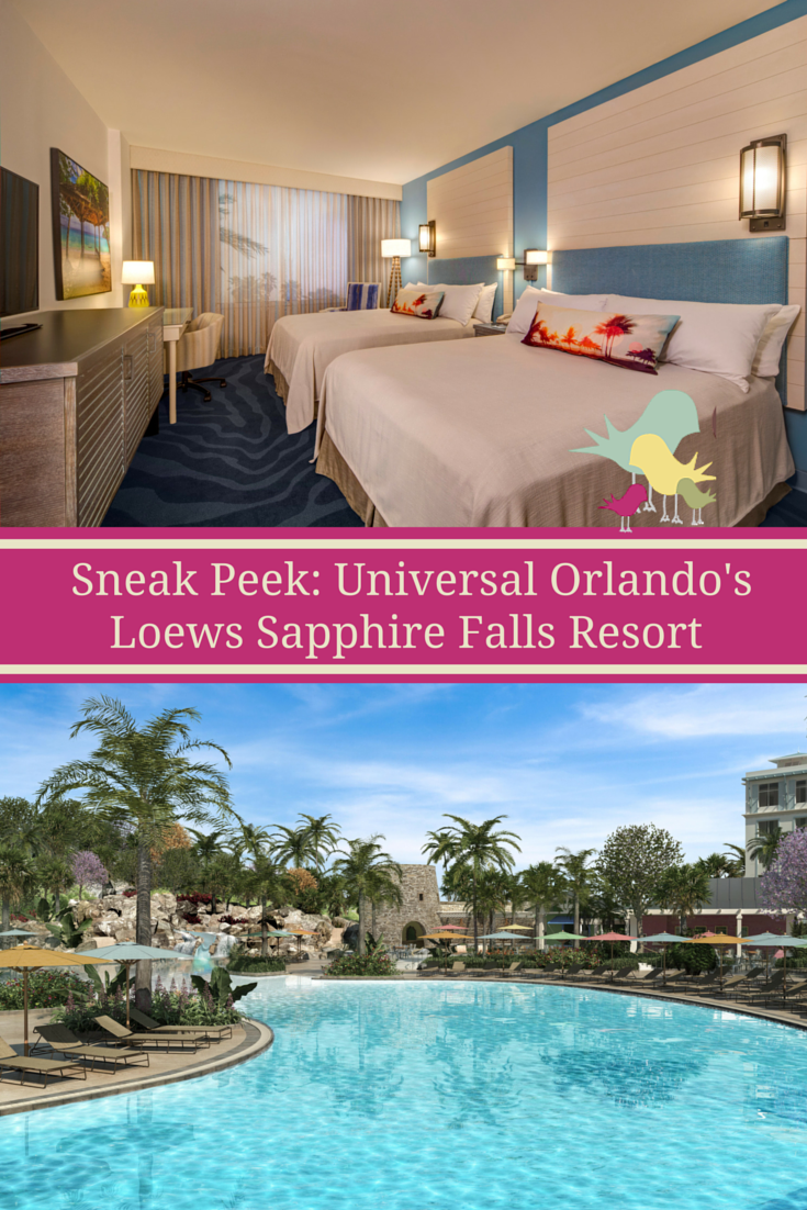 A look inside Universal Orlando Resort's new Loews Sapphire Falls now accepting reservations for summer 2016