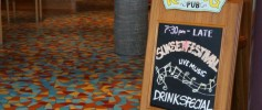 Carnival Cruise Lines RedFrog Pub Sign