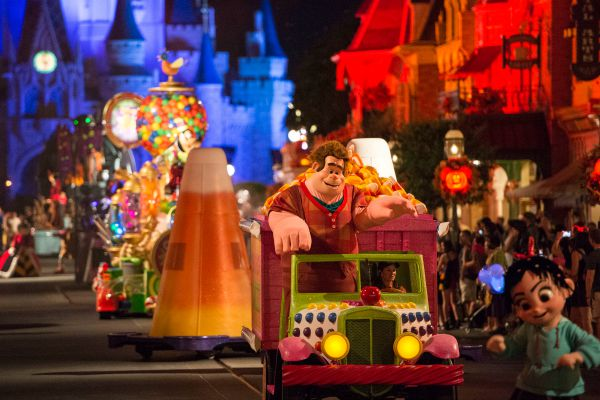 Disney Halloween Parade at Magic Kingdom