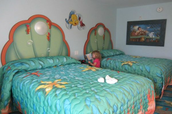 Disney's Art of Animation LIttle Mermaid Rooms