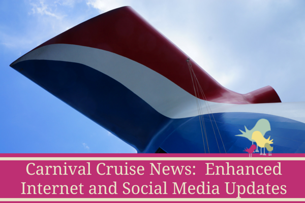 Carnival Cruise Internet >> Carnival Cruise News Enhanced Internet And Social Media