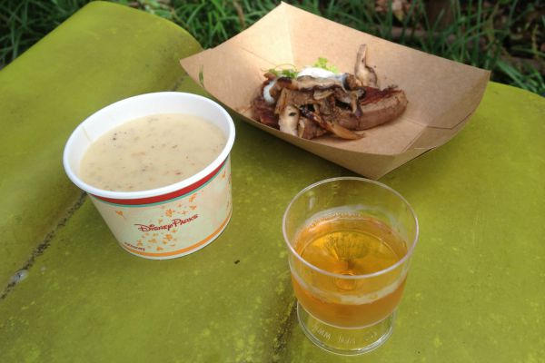Epcot Food & Wine Festival Samplings
