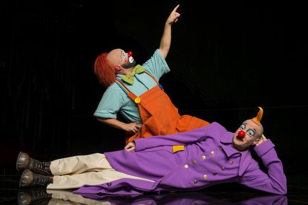 La Nouba Clowns - credit David Roark