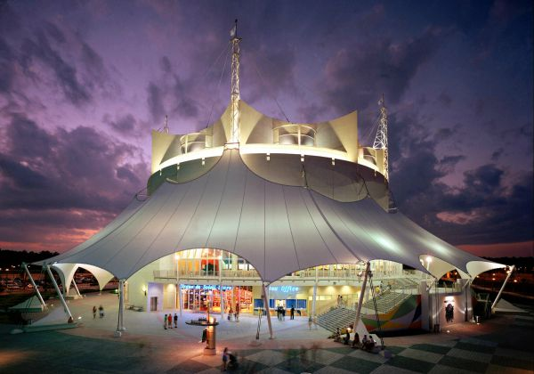 Cirque du Soleil La Nouba Theater at Downtown Disney