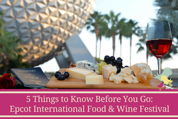 Epcot Food & Wine Festival Things to Know