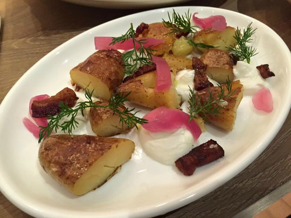 Sbraga & Company - Potatoes with Whipped Buttermilk Ricotta