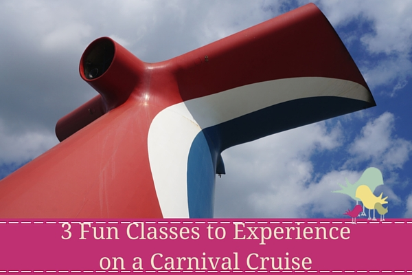 3 Fun Classes to Experience on a Carnival Cruise - blog