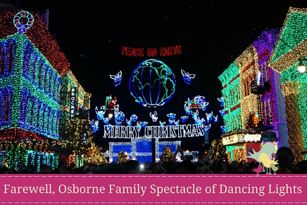 Farewell, Osborne Family Spectacle of Dancing Lights - blog