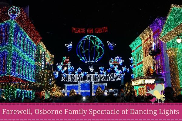 farewell osborne family spectacle of dancing lights blog - Osborne Family Christmas Lights