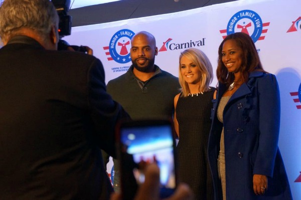 Carrie Underwood and Operation Homefront Press Conference