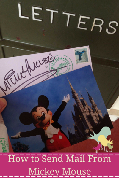How to Send Mail From Mickey Mouse - blog vertical