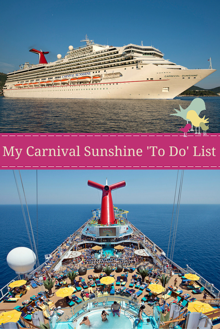 Carnival Sunshine offers unique experiences for families, couples, foodies and those looking for fun.