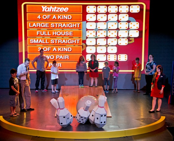 Things to Do on Carnival Sunshine - Hasbro Game Show