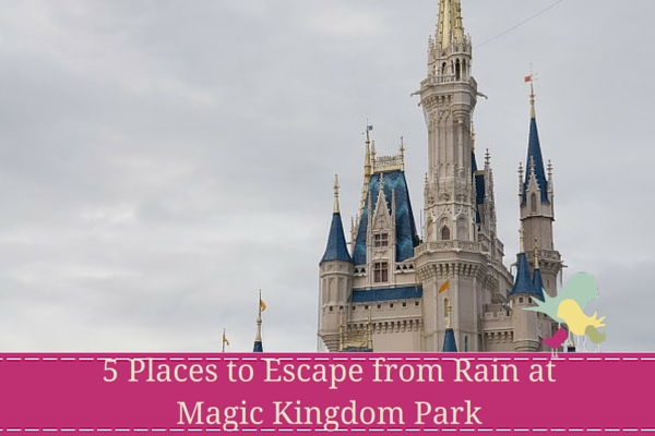 5 Places to Escape from Rain at Magic Kingdom Park - blog