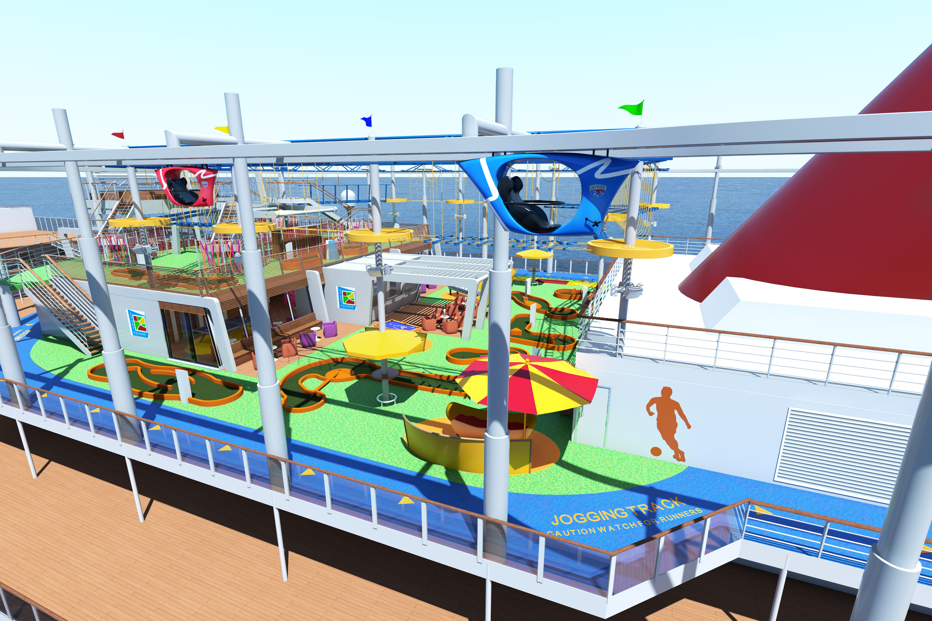 Video The Making Of Skyride On The Carnival Vista Carrie On Travel