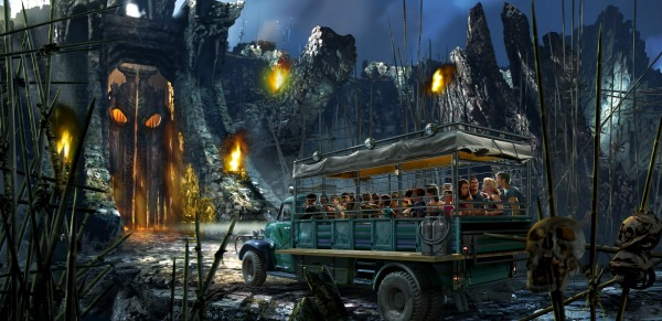 Skull Island Reign of Kong Vehicle - universal orlando skull island