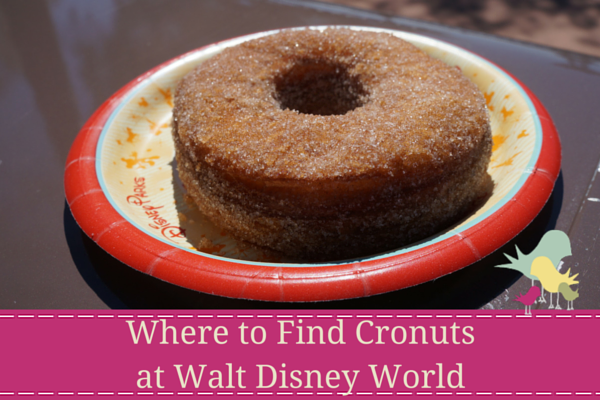 Where to Find Cronuts at Walt Disney World snacks