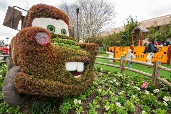 Fun Facts Epcot International Flower & Garden Festival - topiaries
