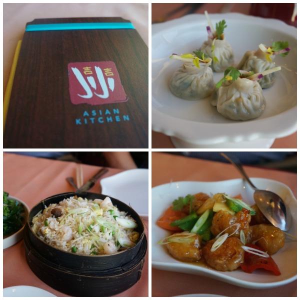 Ji Ji Asian Kitchen - Carnival Cruise Collage