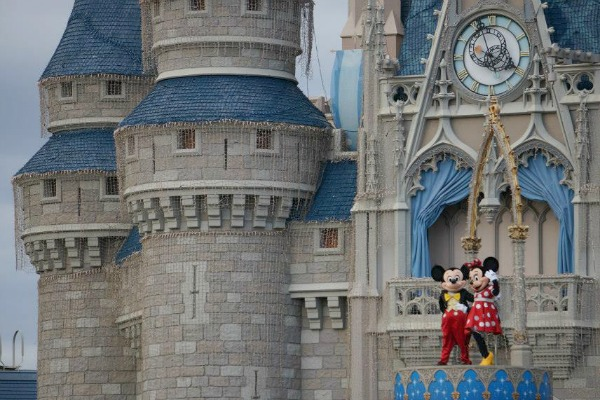 Mickey MInnie Castle