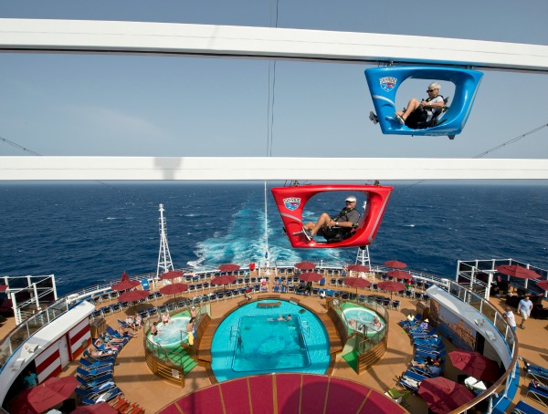 Carnival Vista SkyRide Aft - credit Andy Newman