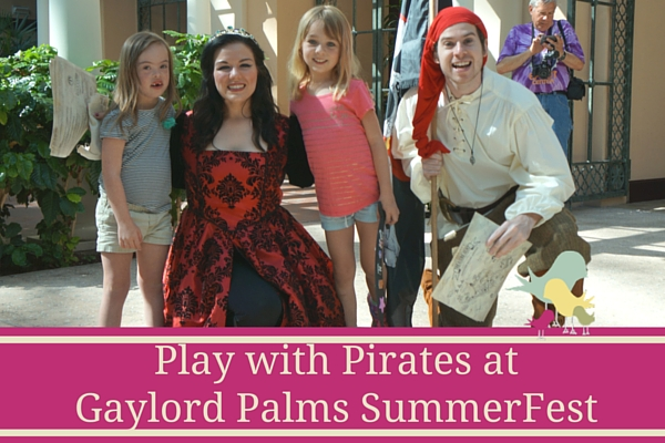 Play with Pirates at Gaylord Palms SummerFest