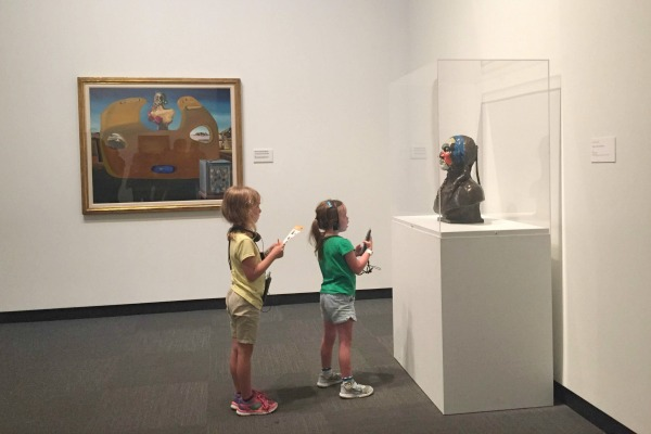 Kids Exploring the Dali Museum