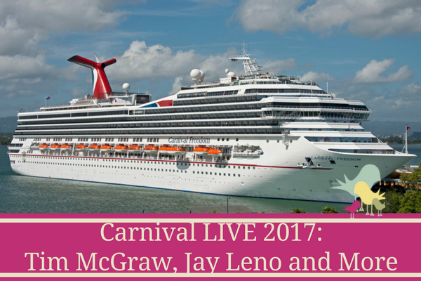 Carnival LIVE 2017 Lineup - blog
