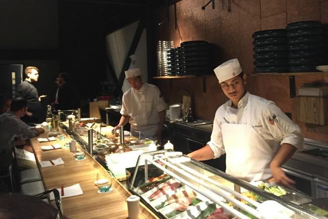 Morimoto Asia - Sushi Bar View