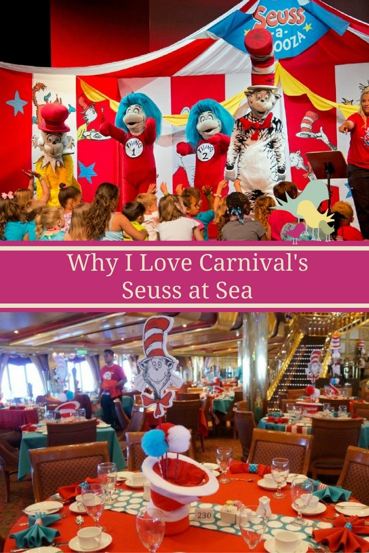 Why I Love Carnival Cruise Line's Seuss at Sea Programs  #cruisingcarnival