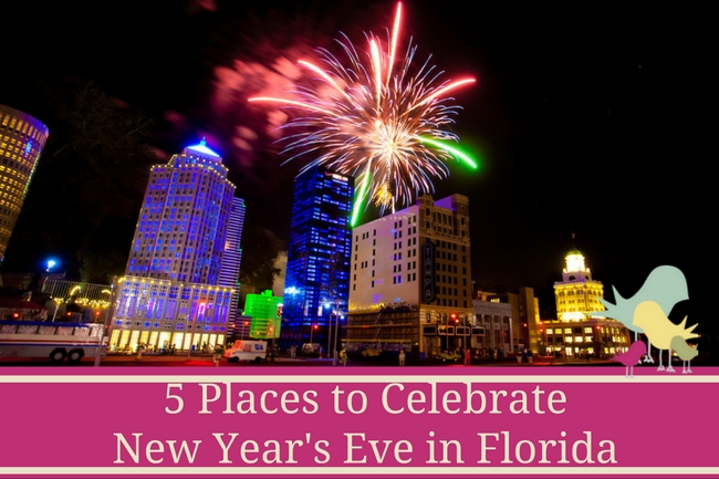 5 Places to Celebrate New Year's Eve in Florida - blog