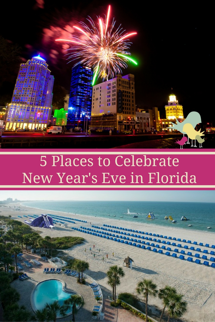 5 Places to Celebrate New Year's Eve in Florida
