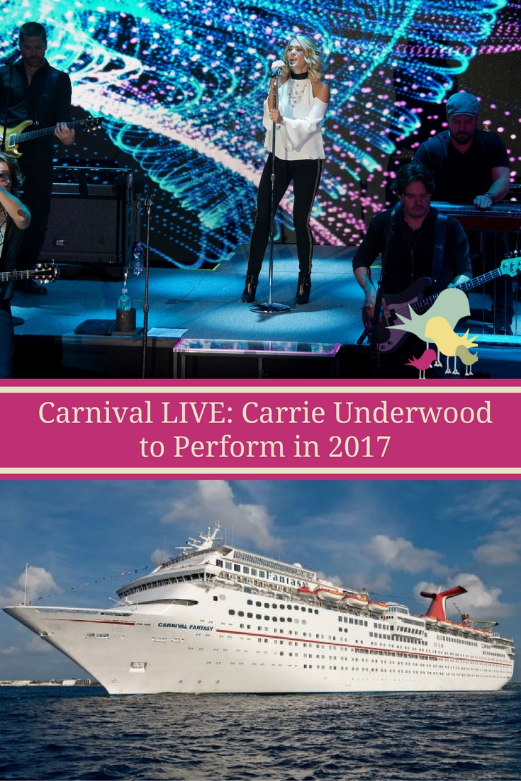 Carnival LIVE News: Carrie Underwood to Perform in 2017  #CarnivalLIVE