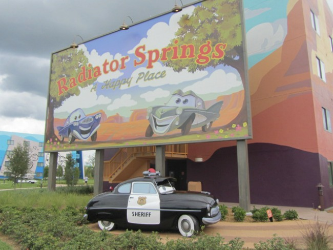 Disney's Art of Animation - Radiator Springs