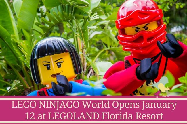 LEGO NINJAGO World Opens January 12 at LEGOLAND Florida Resort ...