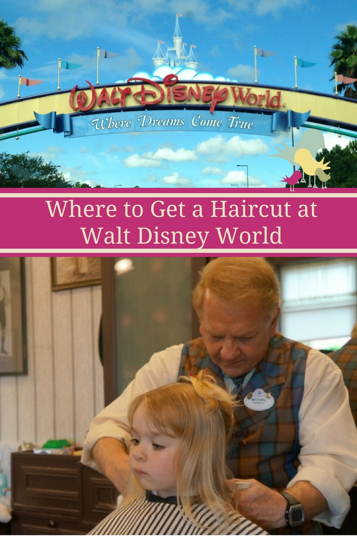Disney Diary: Haircuts and Smiles at Harmony Barber Shop