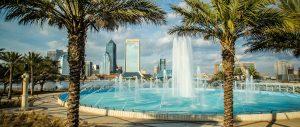 Friendship Fountain in Jacksonville Florida