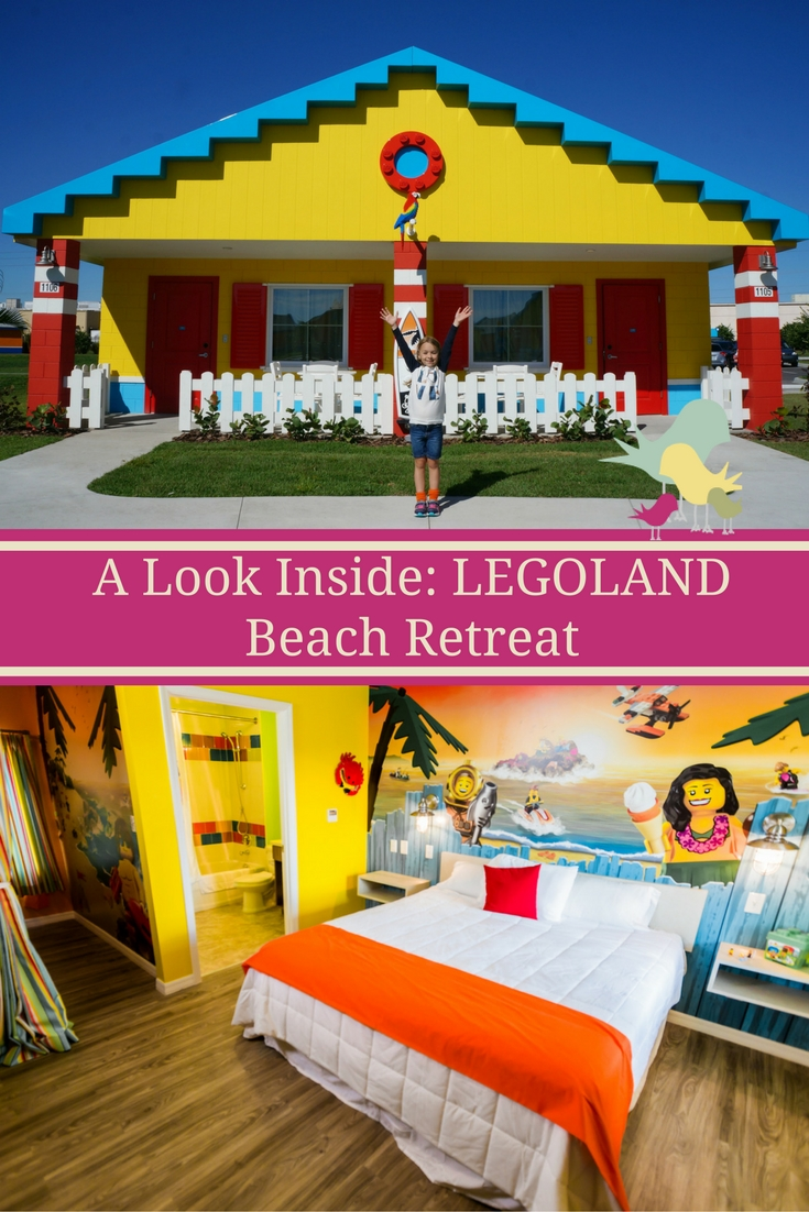 A Look Inside: The New LEGOLAND Beach Retreat  #BrickBeach