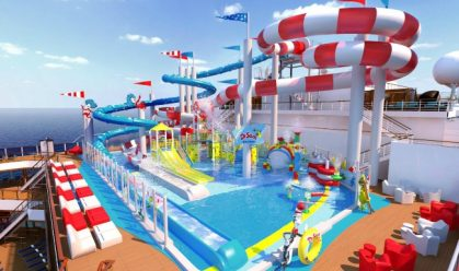 Carnival Horizon Dr. Seuss Waterworks