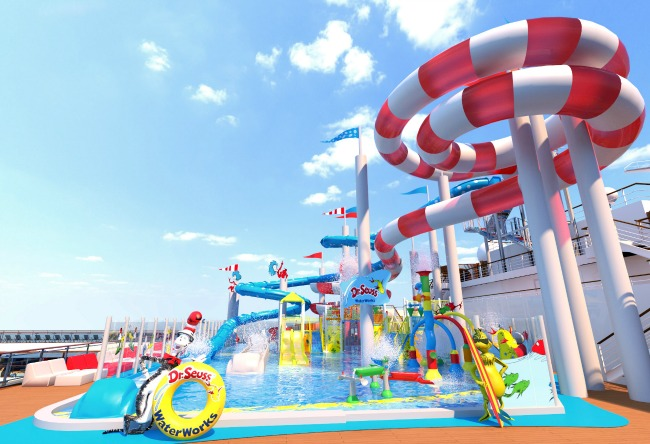 Carnival Horizon Seuss Waterworks - 2